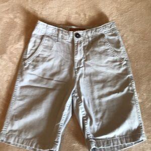 Boy's gray shorts